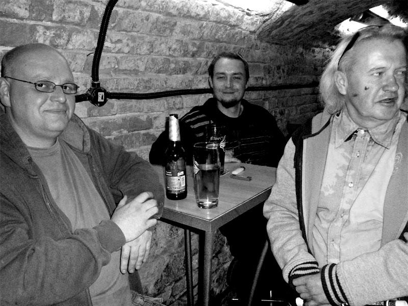 Sekce opilců z Půjčovny aut Brno. Potulný dělník 2013, Brno - Boro. Foto © Ivoš Krejzek