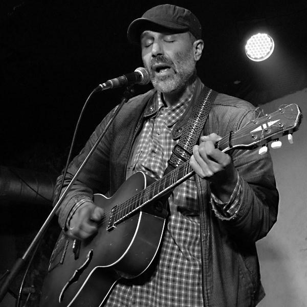 Karel Vepřek, Potulný dělník 2014 - festival poesie, Brno, RC Brooklyn 16.-18.11.2014. Foto Jan Drbal
