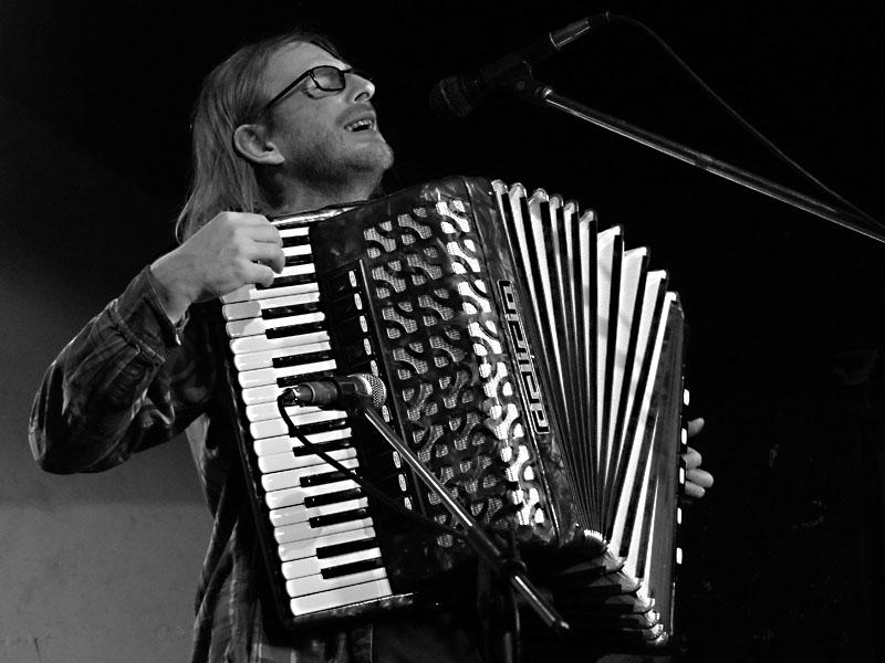 Radim Babák, Potulný dělník 2014 - festival poesie, Brno, RC Brooklyn 16.-18.11.2014. Foto Jan Drbal