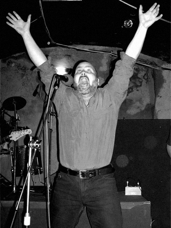 Kapela Sobola - Marek. Spodní proudy, Brno - klub Bumerang, 5. prosince 2003