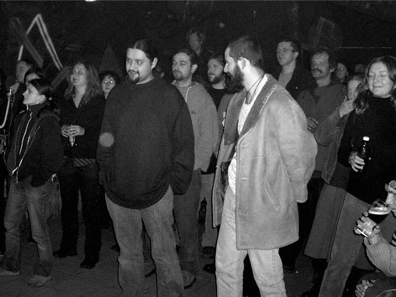 Spodní proudy, Brno - klub Bumerang, 5. prosince 2003