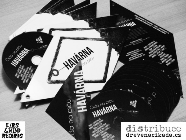 CD Havárna - Óda na piču, Ears&Wind Records, 2014