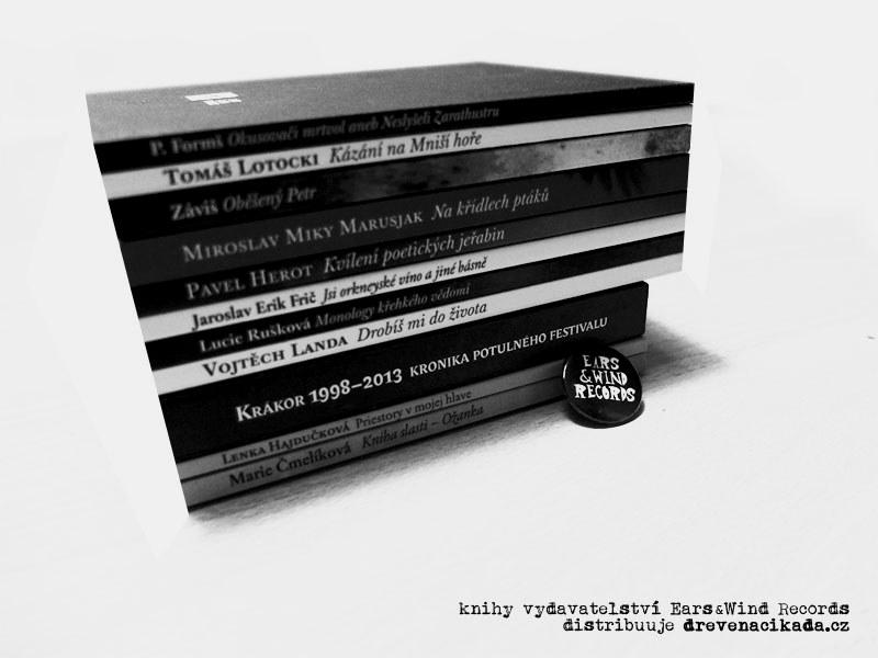 Knihy vydavatelství Ears&Wind Records, lisopad 2015