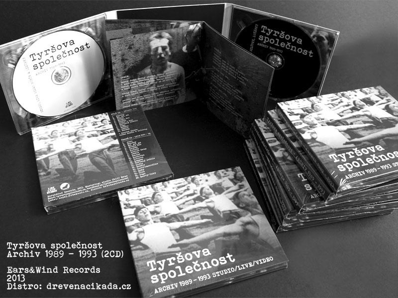 Tyršova společnost, 2CD Archiv 1989-1993, Ears Wind Records, 2013