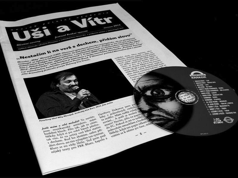 Uši a Vítr, Měsíční noviny ke Krákoru 2013 se samplerem Krákor 2012