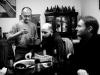 Darek, Fido a Jirka. Založení Ears&Wind Records Polska v březnu 2014, Zabrze. foto Havran
