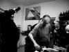 Mišel, Jirka, Darek, Ewa a Fido. Založení Ears&Wind Records Polska v březnu 2014, Zabrze. foto Havran
