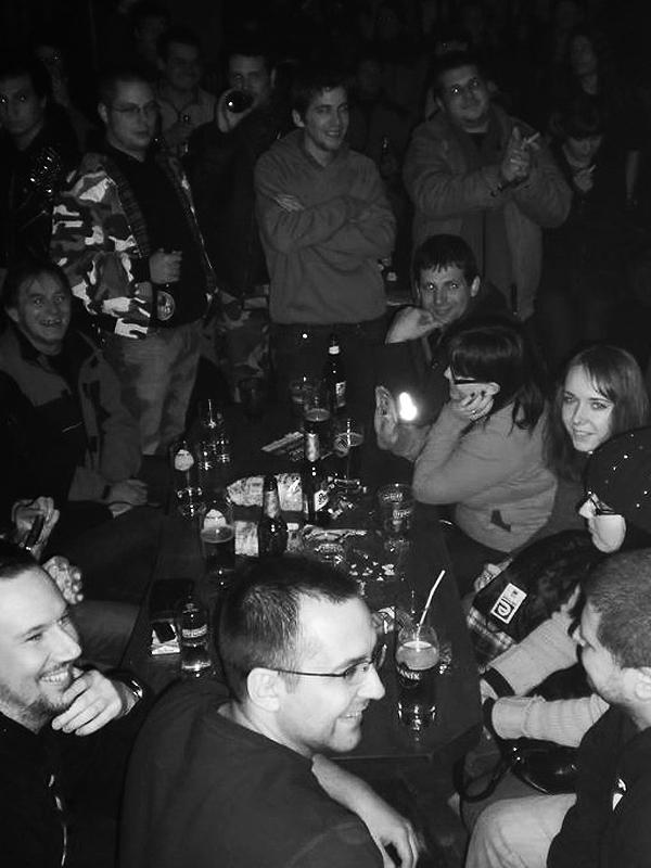 Závišův koncert v Tirish club, Banská Bystrica, 4. února 2011