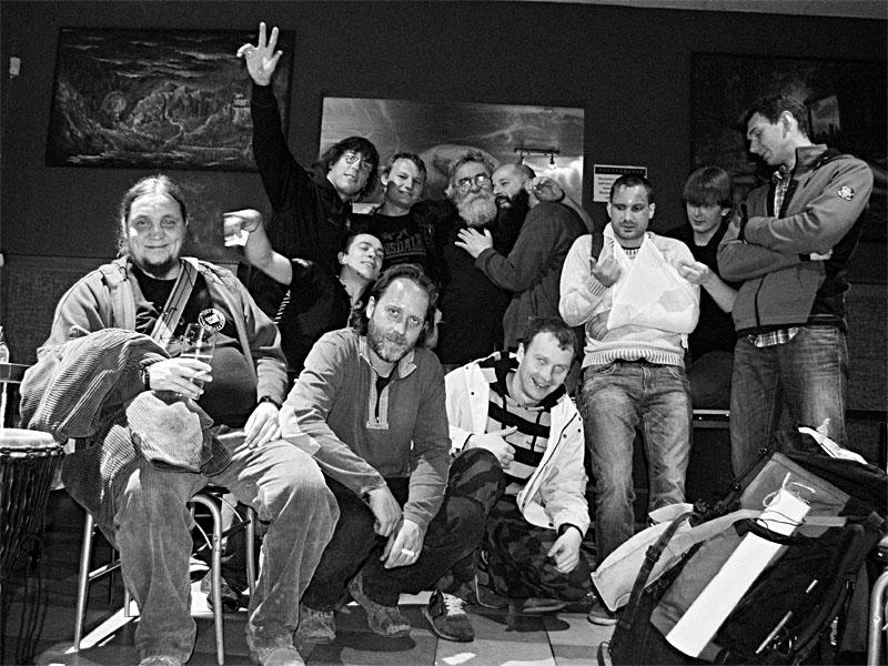 Závěrečná kolektivní, Bar Triangolo Zvolen, duben 2013