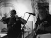 Kája a Havran, kapela NicMoc Kvintet,  bar Triangolo Zvolen, duben 2013